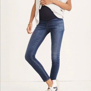 Madewell Over-the-Belly Maternity jeans
